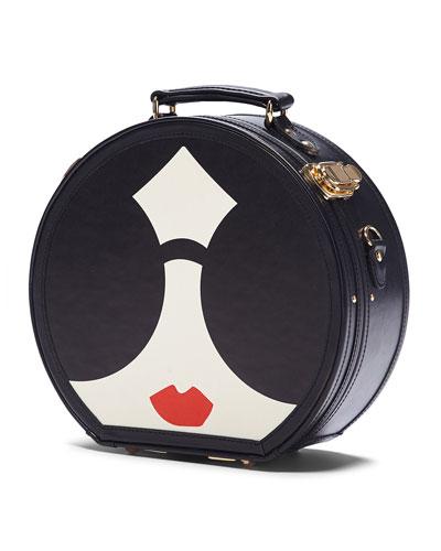 x SteamLine StaceFace Hatbox Travel Bag 4700d736bd7b0