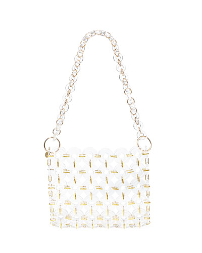 Jasmin Acrylic Ring Shoulder Bag