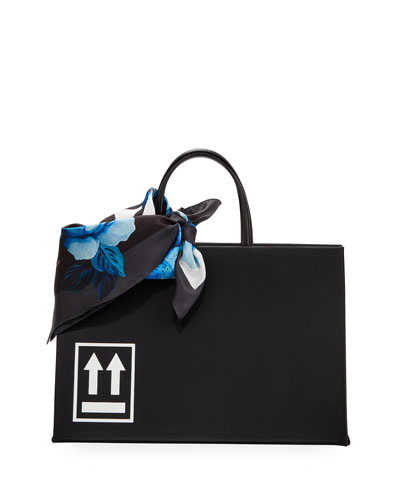 Leather Medium Box Bag