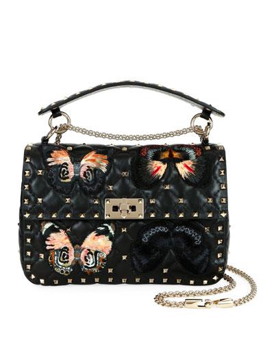 Spike.It Medium Butterfly Shoulder Bag