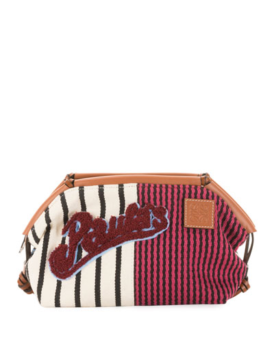x Paula's Ibiza Cushion Pouch Clutch Bag