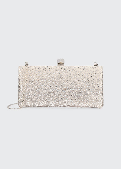 Sprinkled Crystals Clutch Bag