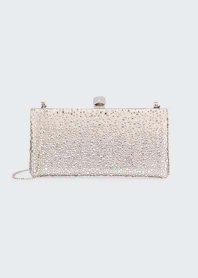 Sprinkled Crystals Clutch Bag