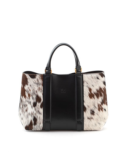 Classic Cow Hair Tote Bag