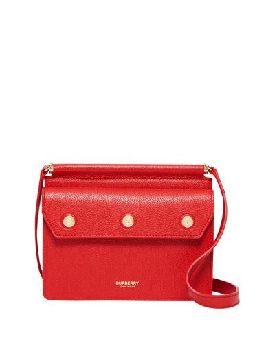 Baby Pocket Smooth Leather Shoulder Bag