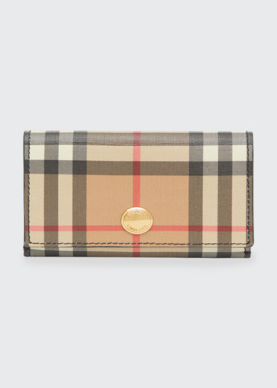 Lark Vintage Check Small Wallet