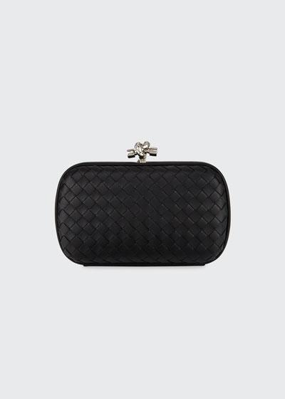 Medium Napa Chain Knot Clutch Bag
