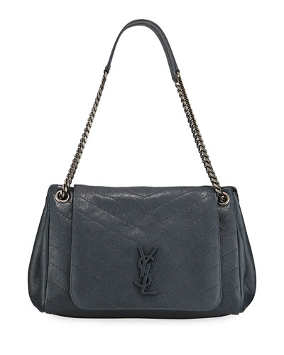 c76ad71044c Nolita Medium Monogram YSL Double-Chain Shoulder Bag Quick Look. Saint  Laurent