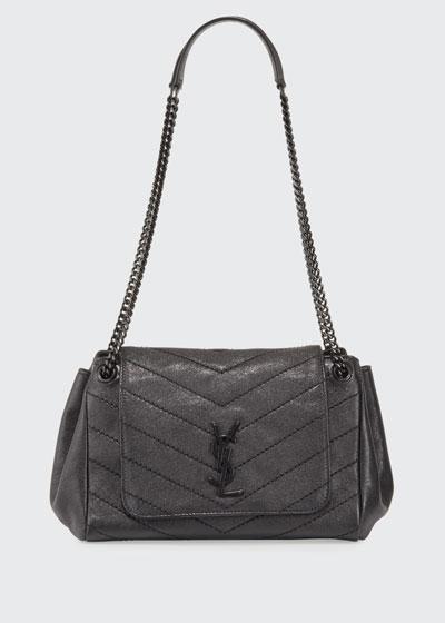 Nolita Small Chevron Shoulder Bag