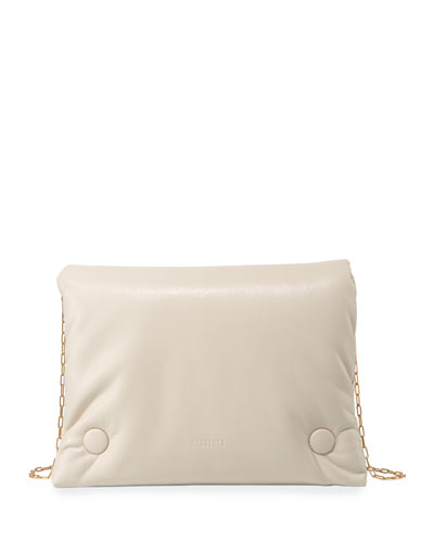 Tao Soft Chain Crossbody Bag, Cream