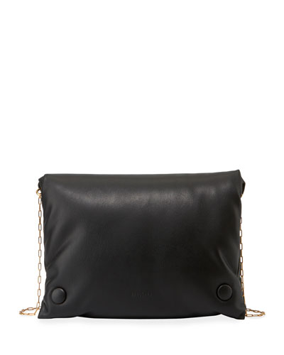 Tao Soft Chain Crossbody Bag, Black