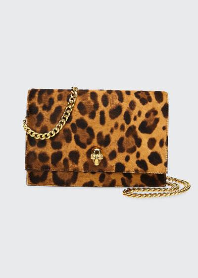 Cheetah-Print Mini Shoulder Bag