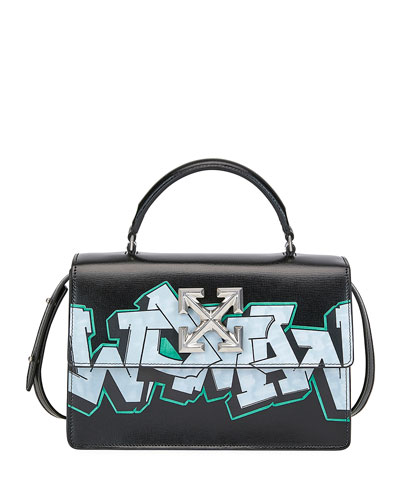 Jitiney Graffiti Top Handle Bag