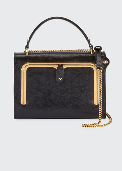 Postbox Small Grain Top Handle Bag