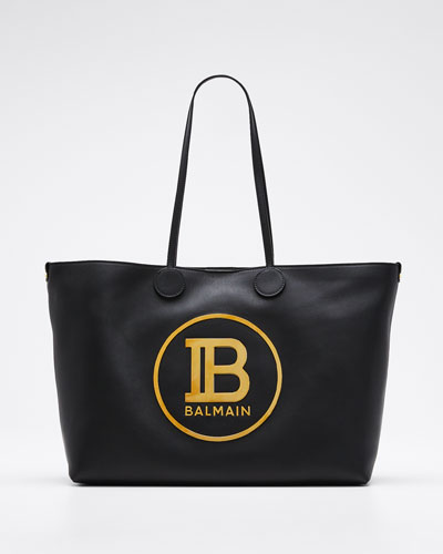 Smooth Medium Shopping Tote Bag
