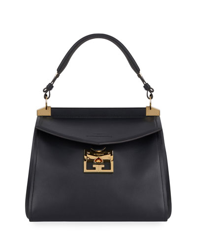 Mystic Medium Calfskin Top-Handle Bag