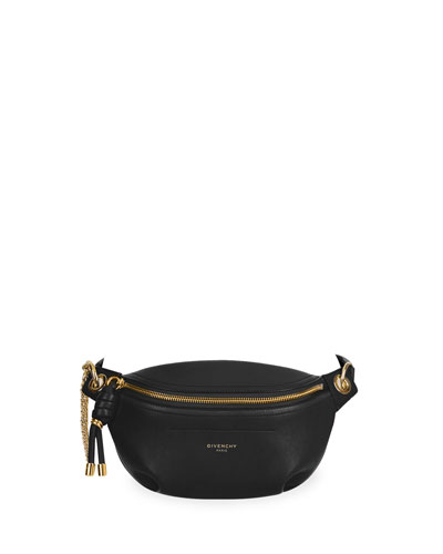 Whip Mini Smooth Belt Bag, Black