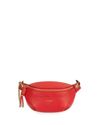 Whip Mini Smooth Belt Bag, Red