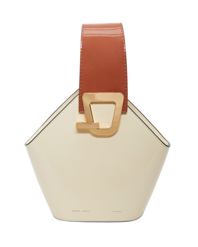Johnny Mini Patent Top Handle Bag