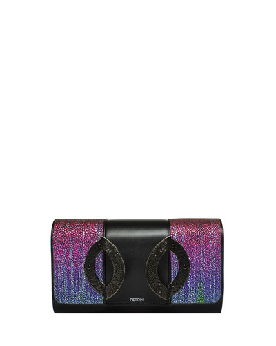 La Croisiere Mixed Clutch Bag
