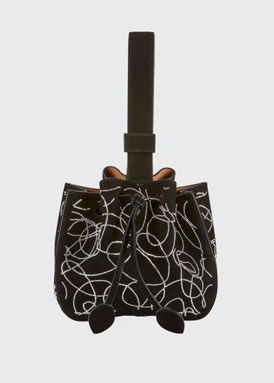 Rose Marie Mini Suede Bucket Bag