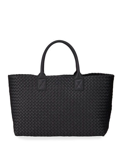 Napa Leather Cabat Tote Bag