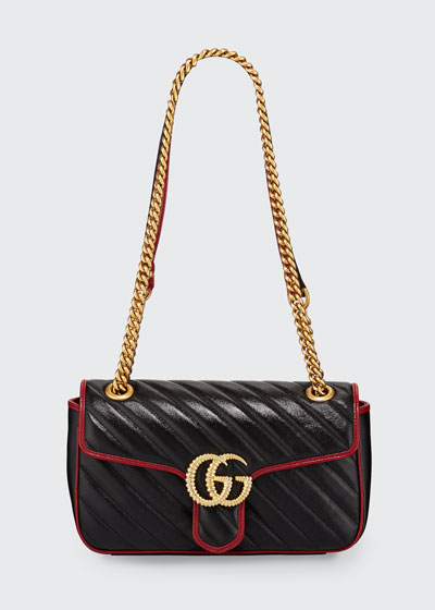 GG Marmont 2.0 Small Shoulder Bag - Golden Hardware
