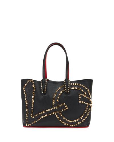 5068737951 Cabata Small Love Calf Paris Tote Bag Quick Look. Christian Louboutin