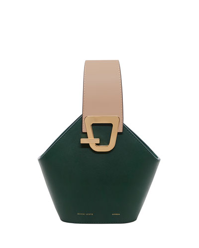 Johnny Mini Two-Tone Top Handle Bag