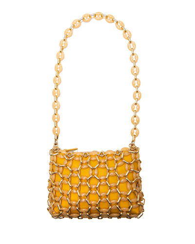 Capria Chain Shoulder Bag, Yellow