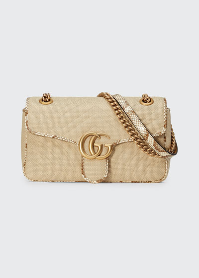 5f61dcb15d8c Gucci Interlocking Chain Bag | bergdorfgoodman.com