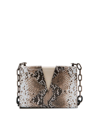 Python V-Chain Shoulder Bag