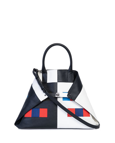 AI Medium Colorama Top-Handle Bag