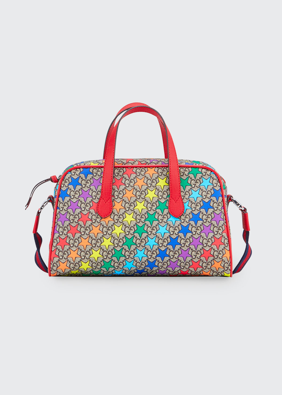 Gucci Shoulder-bags KIDS' RAINBOW-STAR GG SUPREME SHOULDER BAG