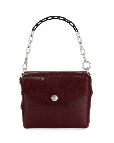 6fb1c24cfe2f Embossed Leather Shoulder Bag | bergdorfgoodman.com