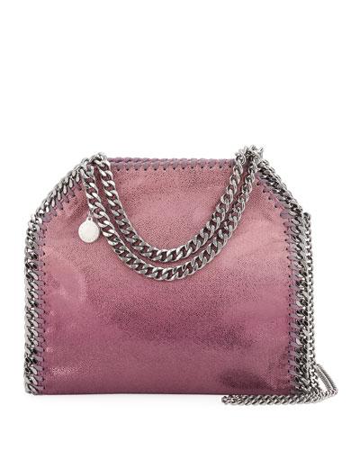 Mini Falabella Metallic Tote Bag