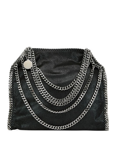 Falabella Multi-Chain Shaggy Deer Tote Bag
