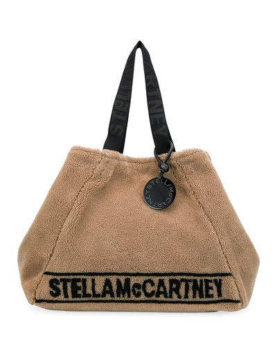 Carry All Stella Faux-Shearling Tote Bag