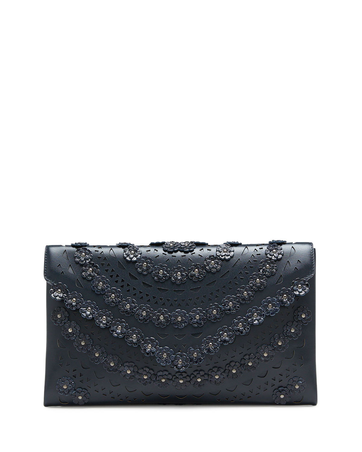 Alaïa Clutch OUM SNAKESKIN AND LEATHER CLUTCH BAG