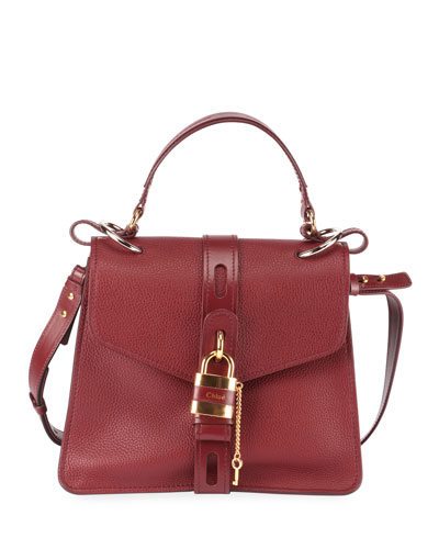 Aby Medium Padlock Top Handle Bag