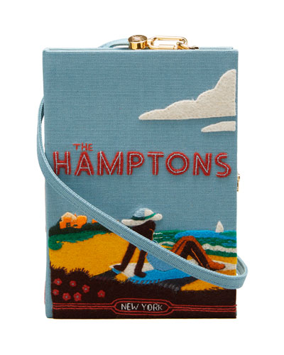Hamptoms Strapped Book Clutch Bag