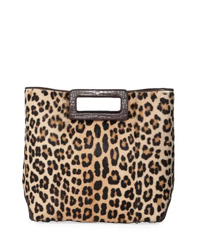 Dani Keyhole Large Leopard Tote Bag