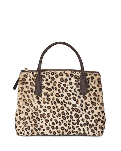 Nyx Medium Crocodile and Leopard Tote Bag