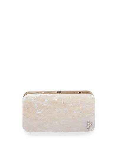 Abalon Acrylic Clutch Bag