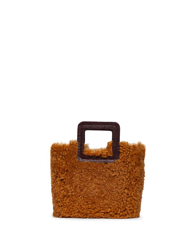 Shirley Shearling Tote Bag