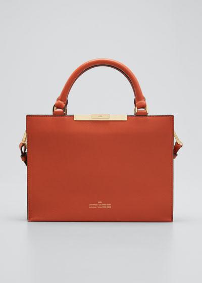 File A Top Handle Tote Bag