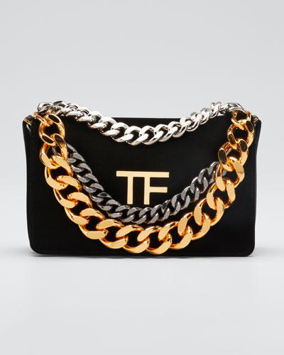 TF Velvet Chain Bag
