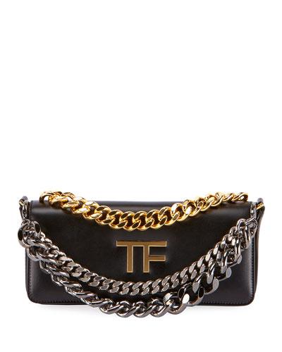 Palmellato TF Leather Shoulder Bag