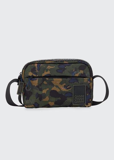 Nylon Crossbody Camo Bag
