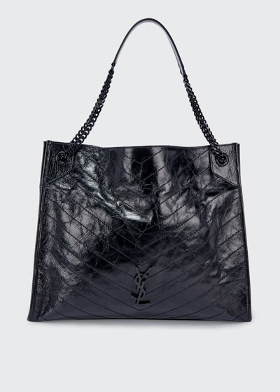 Niki YSL Monogram Calf Shoulder Bag